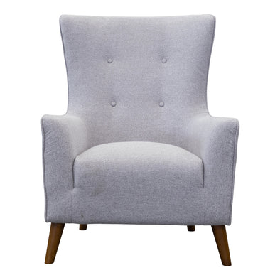 Lily Accent Chair - Silver - Warehouse Furniture Clearance