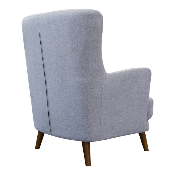 Zoe Accent Chair – Silver - Warehouse Furniture Clearance
