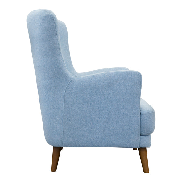 Zoe Accent Chair – Sky - Warehouse Furniture Clearance