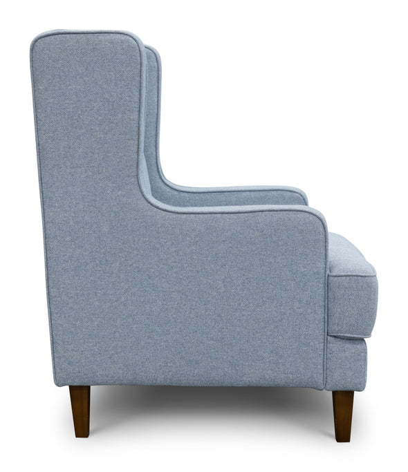 Alexandria Accent Chair - Sky - Warehouse Furniture Clearance