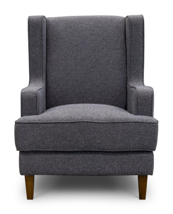 Alexandria Accent Chair - Iron - Warehouse Furniture Clearance