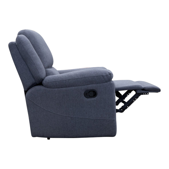 Angelica Recliner - Thunder - Warehouse Furniture Clearance