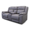 Venus Two Seat Electric Recliner Theatre - Ash - Warehouse Furniture Clearance