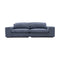 Boston Oversized Two Seat Sofa - Licorice - Warehouse Furniture Clearance