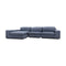 Boston Reversible Chaise Lounge - Licorice - Warehouse Furniture Clearance