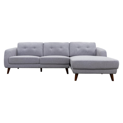 Chanel Chaise Lounge - Silver - Warehouse Furniture Clearance