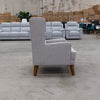 Clara Rocking Chair - Silver - Warehouse Furniture Clearance