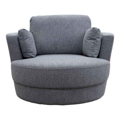 Cooper Swivel Chair - Onyx - Warehouse Furniture Clearance
