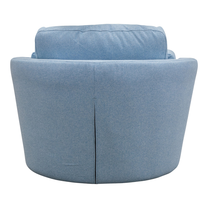 Cooper Swivel Chair - Sky - Warehouse Furniture Clearance