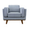 Delilah Armchair - Haze - Warehouse Furniture Clearance