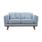 Delilah Two Seat Sofa - Sky - Warehouse Furniture Clearance