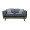 Delilah Two Seat Sofa - Iron - Warehouse Furniture Clearance