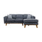 Delilah Chaise Lounge - Iron - Warehouse Furniture Clearance