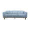 Delilah Three Seat Sofa - Sky - Warehouse Furniture Clearance