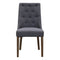 Island Dining Chair - Smoke Iron - Warehouse Furniture Clearance