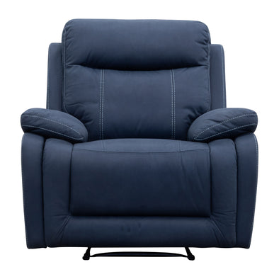 Maine Recliner - Navy - Warehouse Furniture Clearance