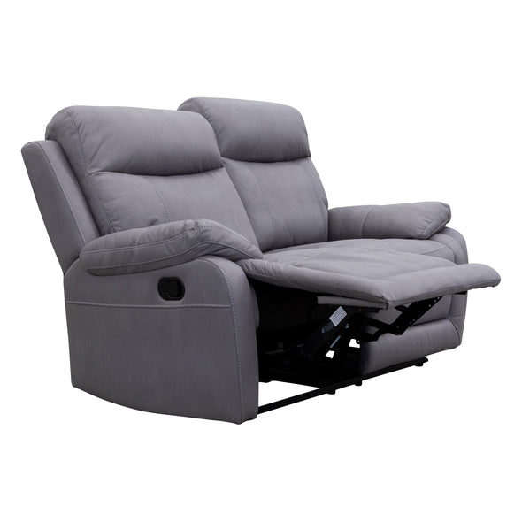 Maine Two Seat Recliner - Ash - Warehouse Furniture Clearance