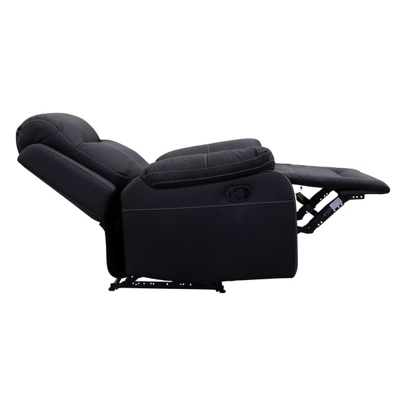 Maine Recliner - Jet - Warehouse Furniture Clearance