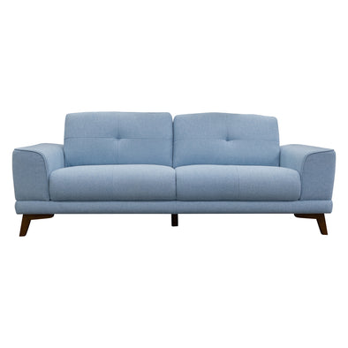 Norman 2.5 Seater - Sky - Warehouse Furniture Clearance