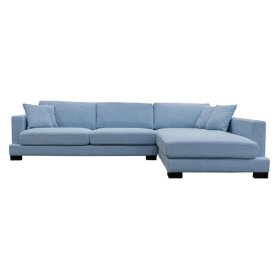 Hilton Chaise Lounge - Sky - Warehouse Furniture Clearance