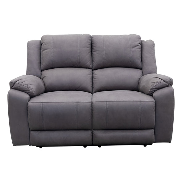 Gozo Two Seat Recliner Lounge - Ash - Warehouse Furniture Clearance
