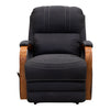 Kingscliffe Recliner - Jet - Warehouse Furniture Clearance