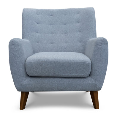 Lara Accent Chair – Haze - Warehouse Furniture Clearance