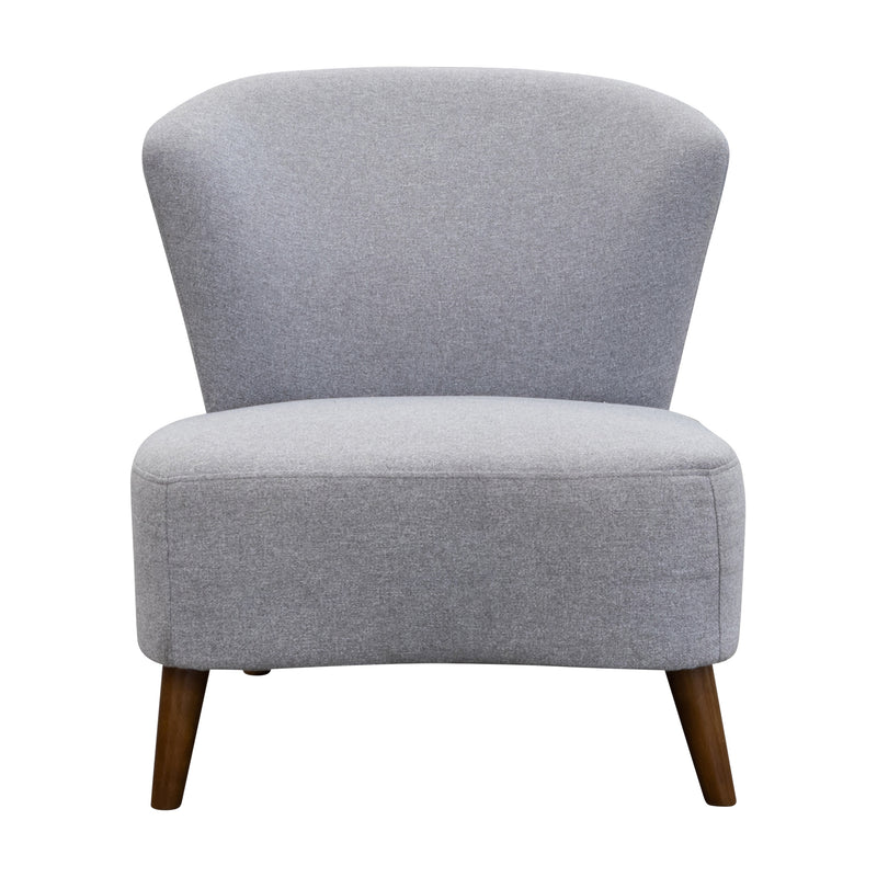Leah Accent Chair – Haze - Warehouse Furniture Clearance