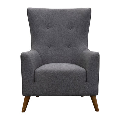 Lily Accent Chair - Iron - Warehouse Furniture Clearance