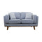 Delilah Two Seat Sofa - Haze - Warehouse Furniture Clearance
