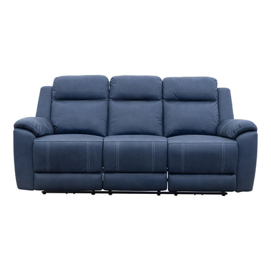 Marco Electric Three Seater - Navy - Warehouse Furniture Clearance