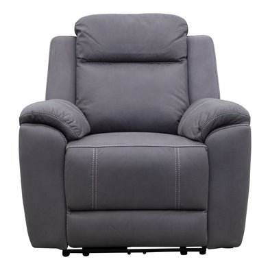 Marco Electric Recliner - Ash - Warehouse Furniture Clearance