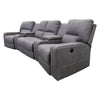 Nexus Electric Theatre Lounge - Ash - Warehouse Furniture Clearance