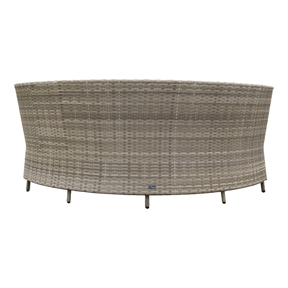 Hudson Round Outdoor Dining Suite - Warehouse Furniture Clearance