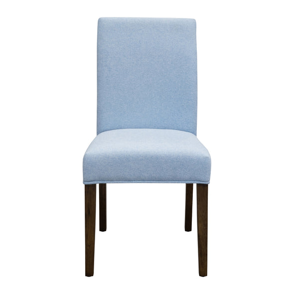 Parker Smoke Dining Chair - Sky - Warehouse Furniture Clearance