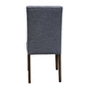 Parker Smoke Dining Chair - Onyx - Warehouse Furniture Clearance