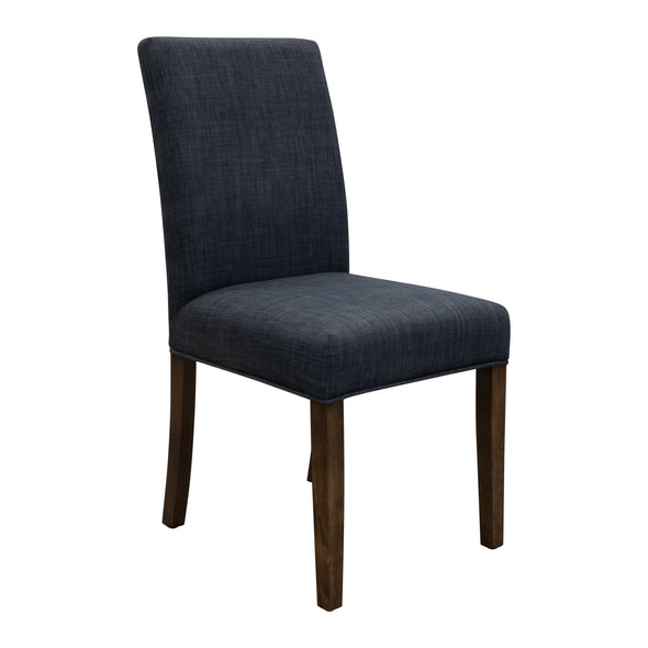 Parker Smoke Dining Chair - Steel - Warehouse Furniture Clearance