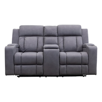 Remi 2 Seat Electric Recliner Theatre - Ash - Warehouse Furniture Clearance