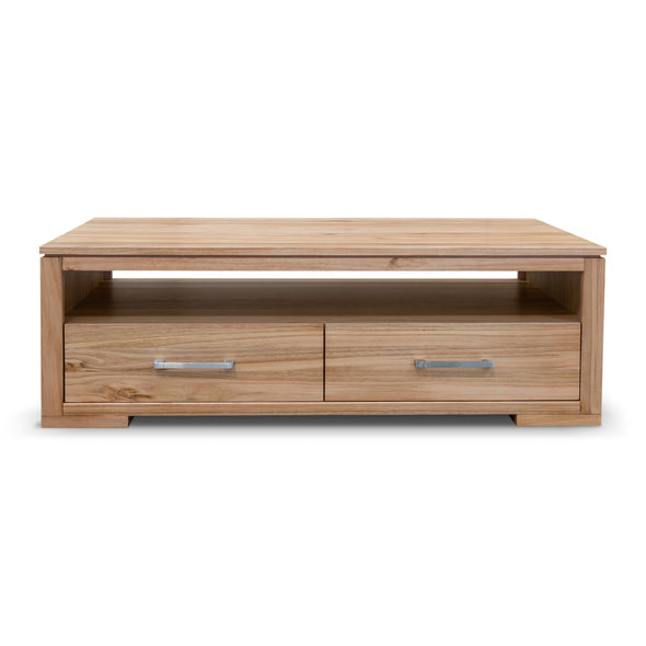 Seville Messmate Hardwood Coffee Table - Warehouse Furniture Clearance