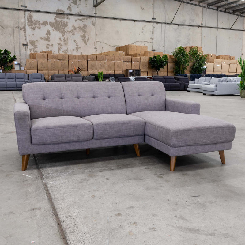 Alma Chaise Lounge – Alloy - Warehouse Furniture Clearance