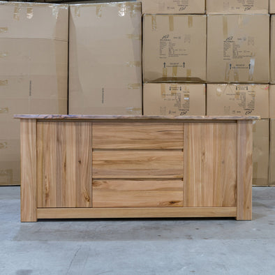 Athena Messmate Hardwood Buffet - Warehouse Furniture Clearance