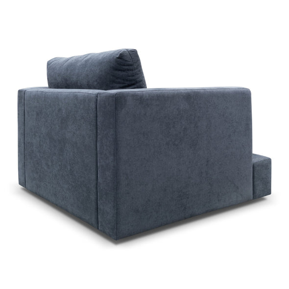Atlanta Feather & Foam Armchair - Storm - Warehouse Furniture Clearance