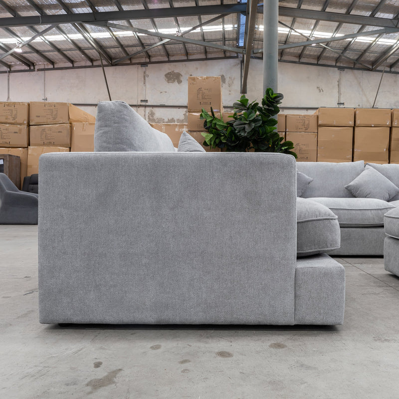 Atlanta Feather & Foam Modular Lounge - Mist - Warehouse Furniture Clearance