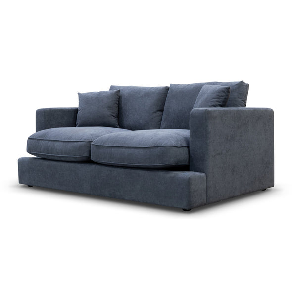 Atlanta Feather & Foam Two Seater - Storm - Warehouse Furniture Clearance