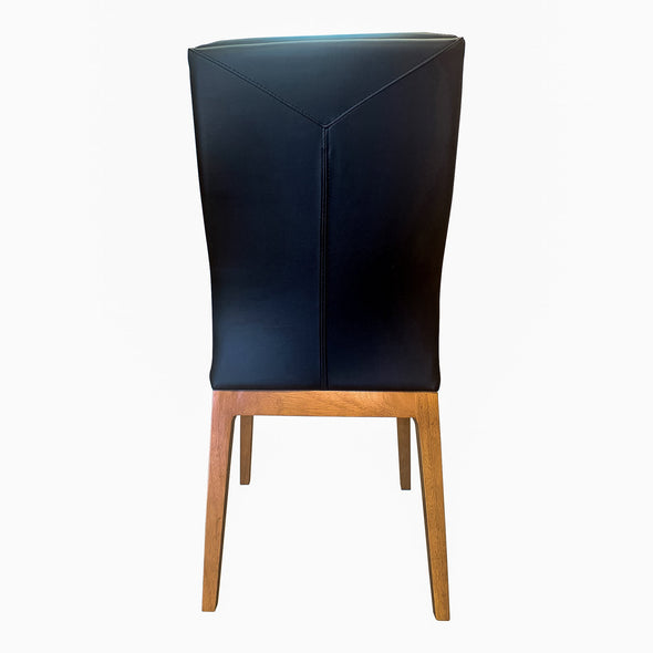 Belvedere Dining Chair Natural - Black - Warehouse Furniture Clearance