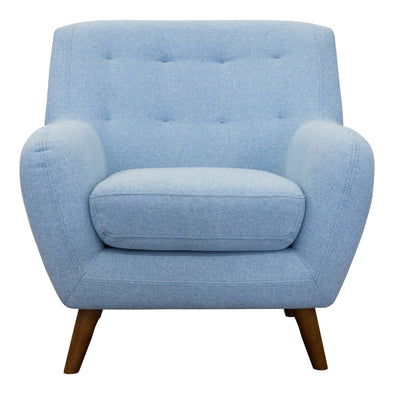 Casey Accent Chair - Sky - Warehouse Furniture Clearance