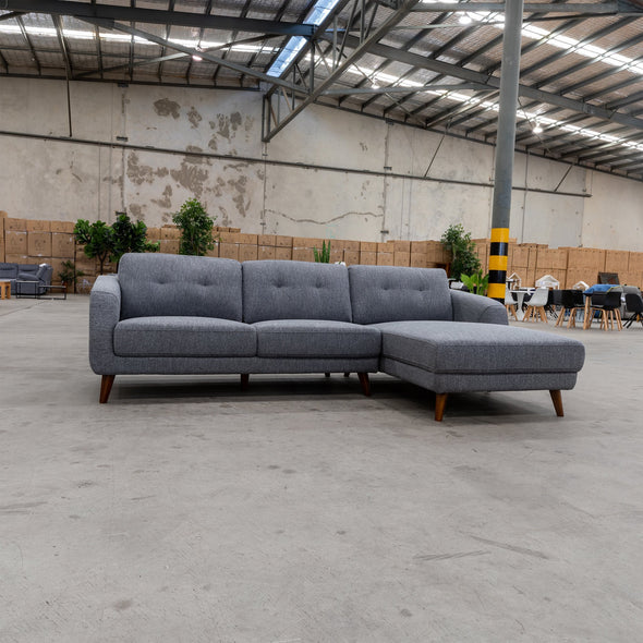 Chanel Chaise Lounge - Onyx - Warehouse Furniture Clearance