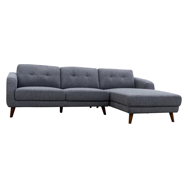 Chanel Chaise Lounge RHF - Onyx - Warehouse Furniture Clearance