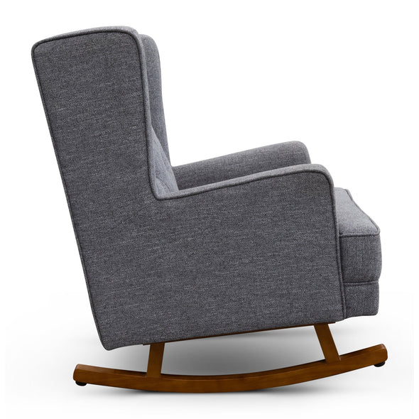 Clara Rocking  Chair - Onyx - Warehouse Furniture Clearance