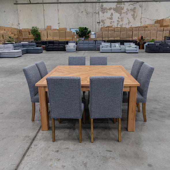 Darnum 1500 Square Dining Table - Warehouse Furniture Clearance